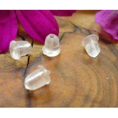 Ohrhänger-Sicherung, Ohrhaken-Stopper Silikon, Paar