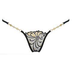 Lucky Cheeks Luxus String Golden Diamond
