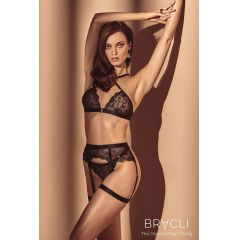 Bracli Vienna Crossed Bra in schwarz
