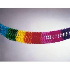 Girlande - Regenbogen-Girlande - 10 m - bunt