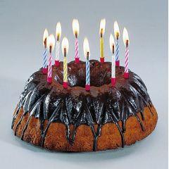 Kerzen - Geburtstagskerzen - Magische Kerzen (10 Stück) - Kuchenkerzen