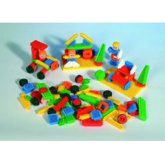 Bausteine - Steckbausteine - Stickle Bricks - 104 Teile