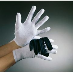 Handschuhe weiß - 100 % Baumwolle - Kindergröße