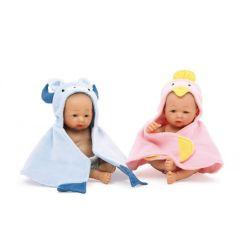 Puppen - 2er Set - Zwillingspaar - Vinylpuppen - zwei verschiedene Puppenpaare zur Wahl
