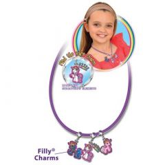 Filly Charms Unicorn Halsband Set - Halskette mit Einhorn-Anhänger