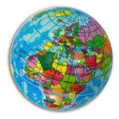 Globus - Ball - Weltkugel - weich - ca. 6 cm Durchmesser