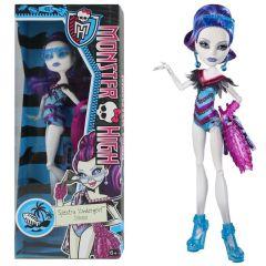 """Monster High """"Spectra Vondergeist"""" Puppe - ca. 29 cm - Mattel Schwimmkollektion"""