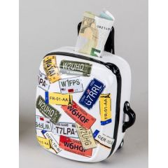 formano Spardose Koffer aus Keramik in Bunt, 12 x 16 cm