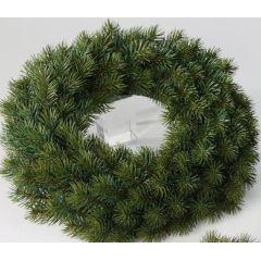 formano Weihnachtskranz Tanne in Grün, 27 cm