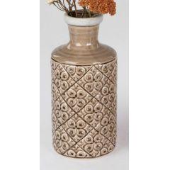 formano Blumenvase aus Keramik im Landhausstil, 13 x 27 cm