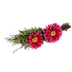 formano Frühjahr Tischdeko Gerbera in Pink, 21 cm