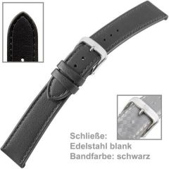 Uhrenarmband Men 22 mm Kalbsleder