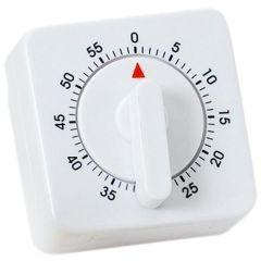 Atlanta 288 Kurzzeitmesser Kurzzeitwecker Küchen Timer analog weiß eckig