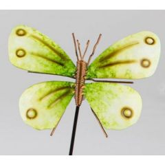 formano Gartenstecker Schmetterling in Grün, 16/65 cm