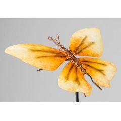 formano Gartenstecker Schmetterling in Gelb, 22/85 cm