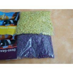 500 Gramm Dekogranulat-grob-gelb