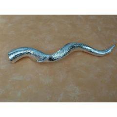 Deko-Antilopenhorn in Silber