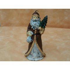 Weihnachtsmann-Kerze ca. 17 cm hoch