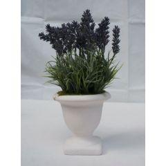 Lavendel im Topf, Kunstblume, 25,5 cm hoch