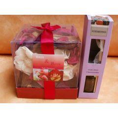 Potpourri und Raumduft Roses-Berries in Geschenkbox