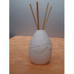 Raumduft-Vase Flowers in Weiß