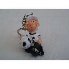 Schlüsselanhänger Fußballer, 5 cm
