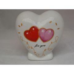 Spardose Herz for you aus Keramik