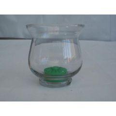 Windlicht aus Glas, 8,5 cm