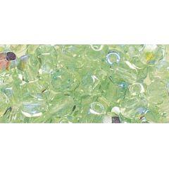 Glas-Schliffperle jaspis irisierend