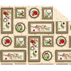 Fotokarton Weihnachtszauber 300g/m² 49,5 x 68 cm