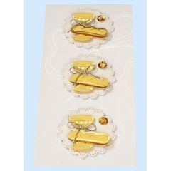 CREApop®Sticker Kelch und Brot