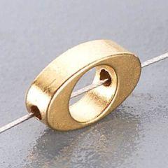 Metallanhänger, 10 x 5 mm
