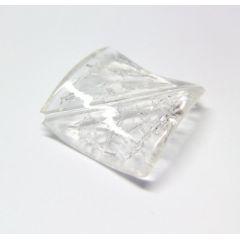 CREApop® Crackleperle, Quadrat gedreht, Btl. A 8 St.