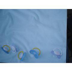 Scrapbookpapier Baby Schnuller 30,5x30,5 cm