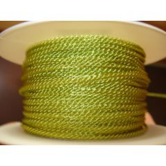 Acetat-Kordel  2mm apfelgrün