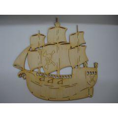 Schiff, Dreimaster
