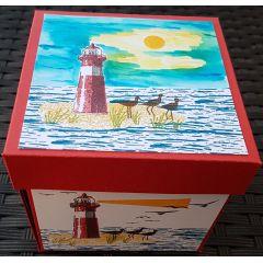 "Explosionsbox ""Leuchtturm"""