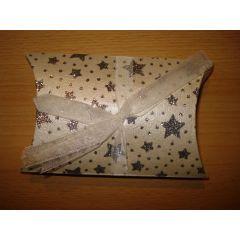Weihnachts-Geschenkschachtel  11 x 10 cm, Höhe 3 cm