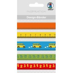 Designbänder 5 x 90 cm Schule