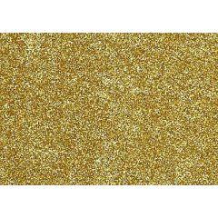 Glitter-Bügelfolie gold