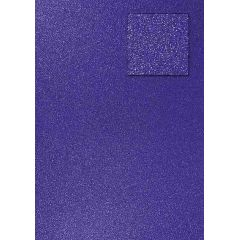 Glitterkarton, royalblau