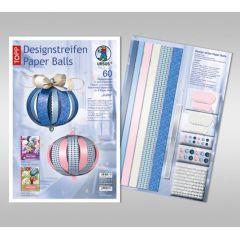 Designstreifen Paper Balls Set Juliet