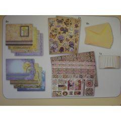 Design-Set für romantische Karten Set 1