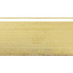 Verzierwachsstreifen, gold,1mm 30 Stück, Flachstreifen