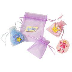 CREApop® Organza-Säckchen flieder 8 x 10 cm, Beutel a 12 Stück