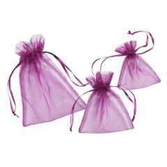 CREApop® Organza-Säckchen lavendel 8 x 10 cm, Beutel a 12 Stück