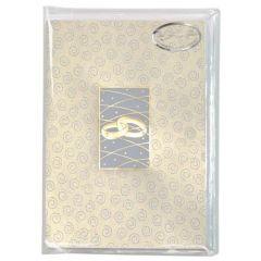 Eheringe und Spirale 6 Karten / Einleger und Kuvert