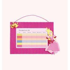 Stundenplan-Bastelset Pink Princess  21 x 30 cm