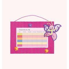 Stundenplan-Bastelset Schmetterling  21 x 30 cm