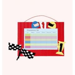 Stundenplan-Bastelset Formel 1  21 x 30 cm